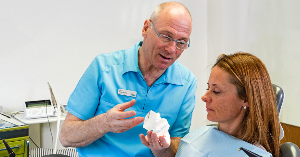Sbiancamento professionale dal dentista